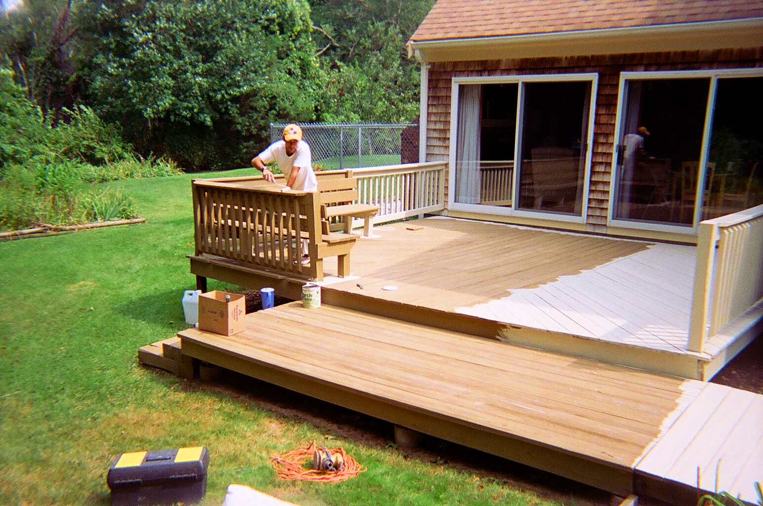 Back deck restoration
